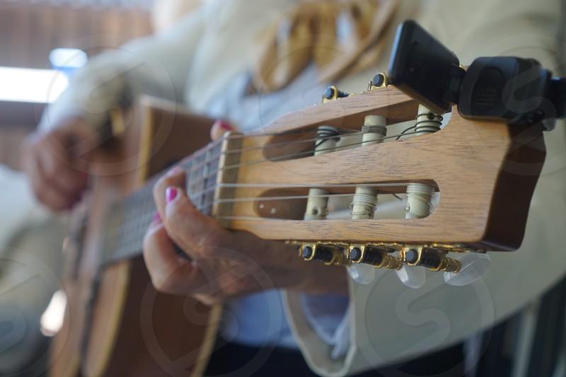 Guitar mariachi perspective  photo