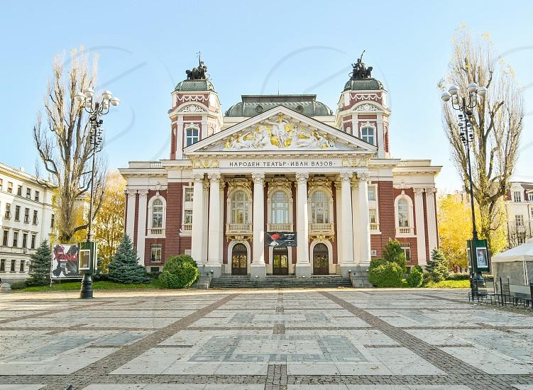 Ivan Vazov National Theatre in Sofia Bulgaria photo