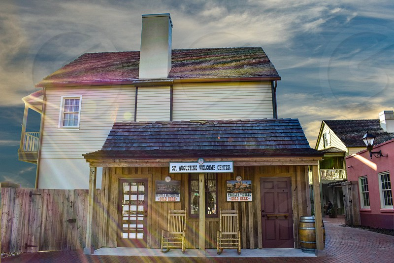 St. Augustine Florida. January 26  2019. St. Augustine Welcome Center at Old Town in Florida's Historic Coast. photo