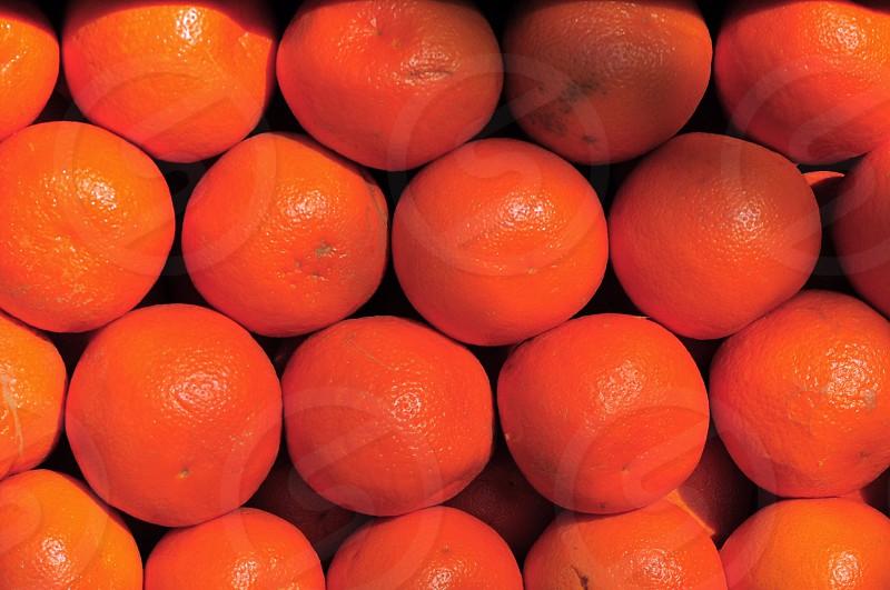bunch of orange fruits photo