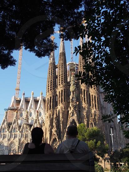 サグラダファミリア、ガウディ、バルセロナ、スペイン、教会 photo