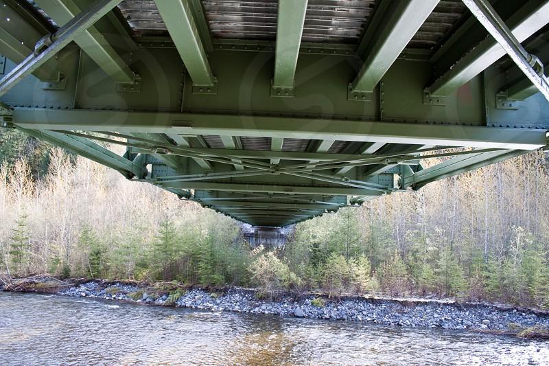 Under a Bridge Across a River photo