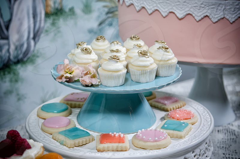 array; assortment; baked; blue; cake; choice; colorful; cup; cup-cake; cupcake; cyan; decorated; dessert; embossed; fairy; fattening; flower; fondant; food; frosted; frosting; fuchsia; gourmet; green; gum; gumpaste; horizontal; iced; icing; lots; luxury; magenta; many; nobody; ornate; paste; pink; rose; selection; sugar; sugarcraft; sugarpaste; sweet; turquoise; variation; variety; vertical; wedding; white photo