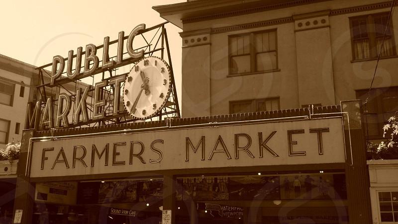 Pikes Place Market Seattle WA photo