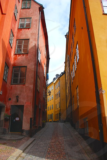 Alleyway in Stockholm photo
