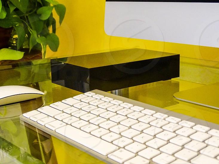 Photo of Hard Drives on Desk photo