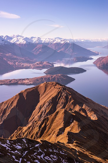 Incredible view from Roy's Peak in Wanaka photo