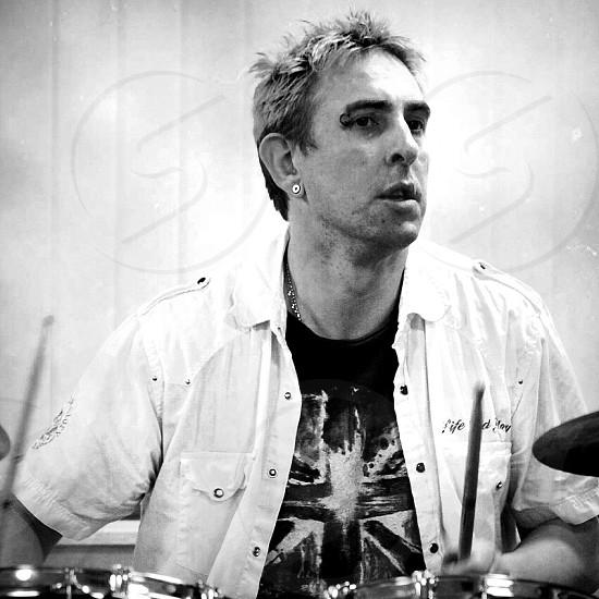 Nick drummer artist performer photo