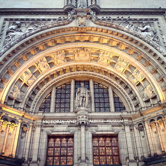 Museum Victoria and Albert london architecture  photo