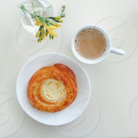 Pastry coffee  photo