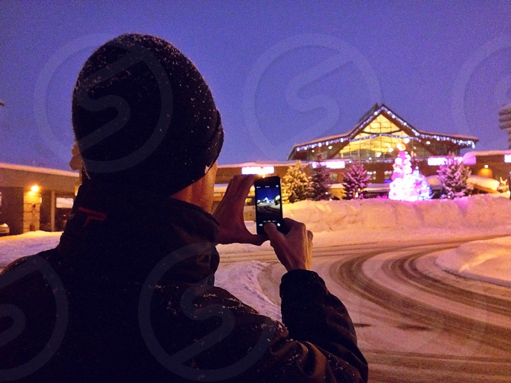 Mobile photographer photo