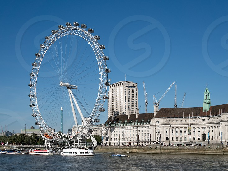 View of the London Eye photo