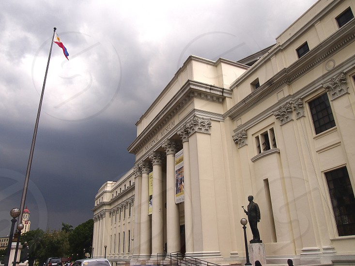 Facade of the National Museum building of the Philippines. photo