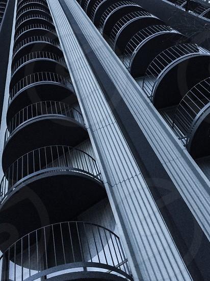 white and black concrete building photo