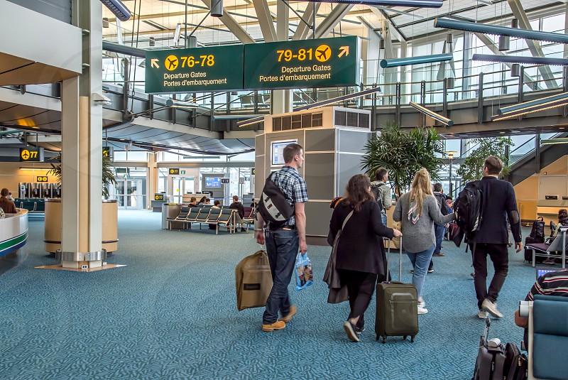 Airport travel photo