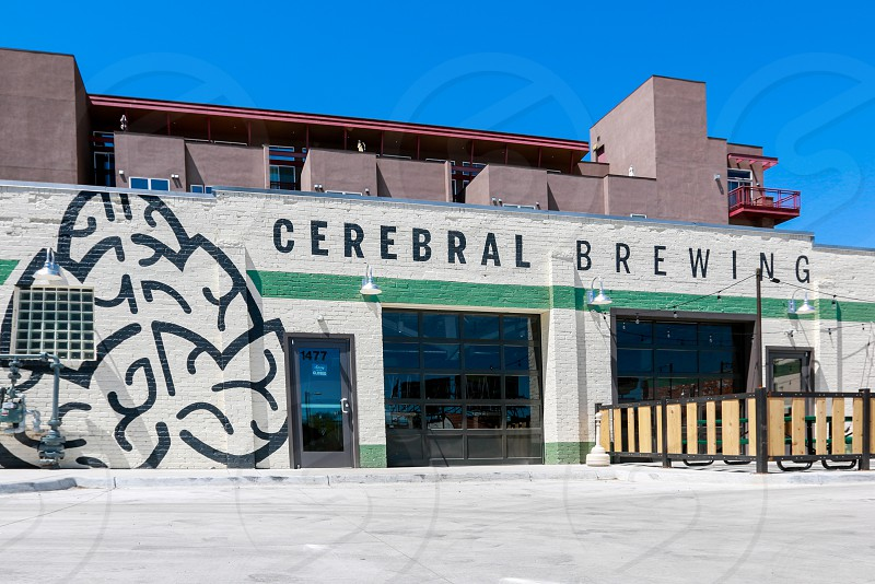 Cerebral Brewing. Exterior. Denver Colorado photo