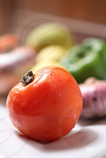 Fresh and nutritious vegetables photo