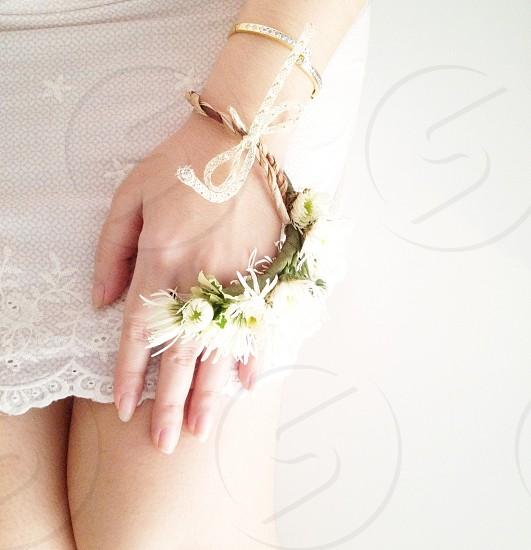 white skirt photo