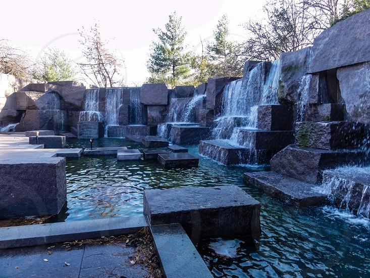 Franklin Delano Roosevelt Memorial - Washington DC USA photo