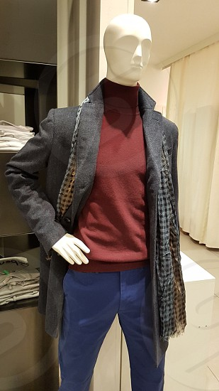 Mannequin in the shop photo