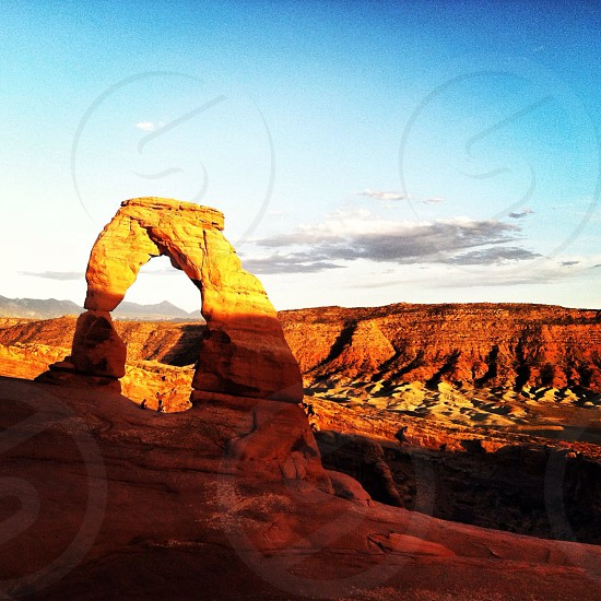 Delicate Arch Arches National Park Moab Utah photo