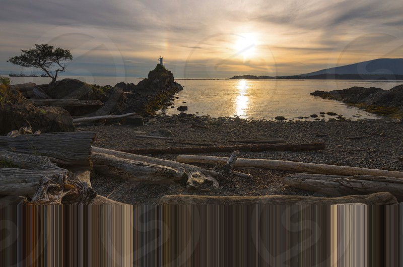 Pacific North West Salish Sea Bowen Island Beach Landscape Seascape photo