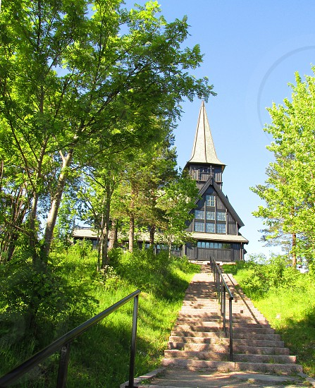 Holmenkollen Chapel Oslo Norway photo