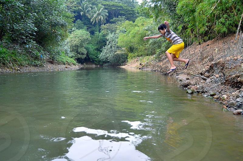 river Jump photo