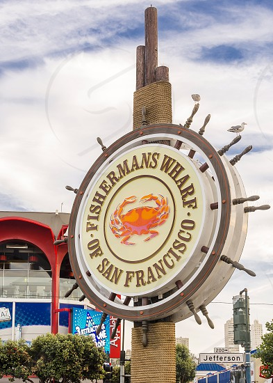 Fisherman wharf San Francisco California attraction tourism photo