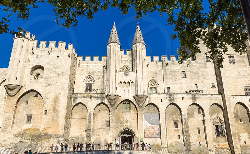 Palais des Papes in Avignon Faance photo