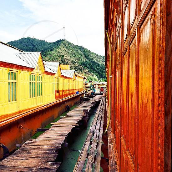 Houseboat..srinagar..Kashmir photo