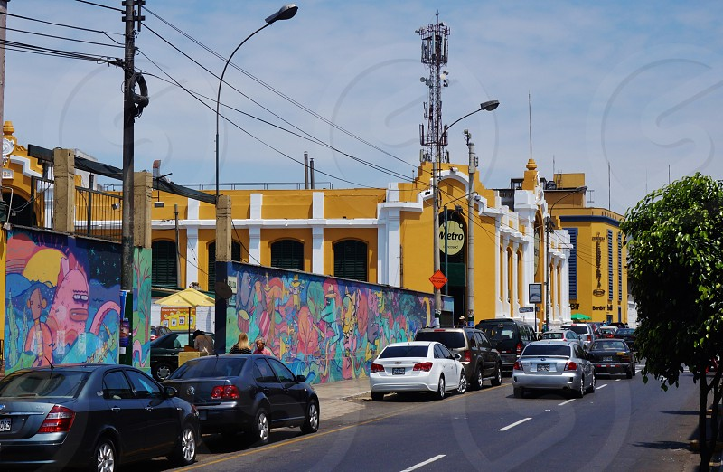 The Barranco District in Lima Peru photo