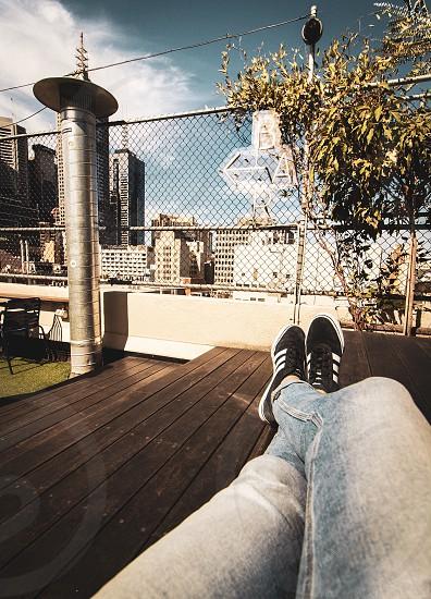 Rooftop bar; CBD; drinks; beers; sunshine photo
