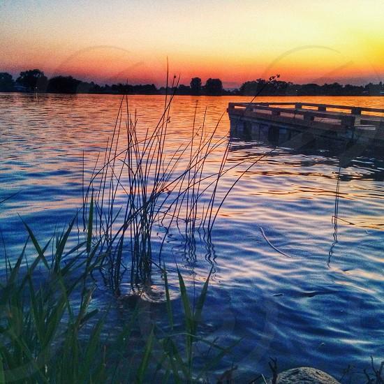 Taken in Moses Lake WA on a beautiful summer nights. Used G3 / Portraits. A mesmerizing shot! photo