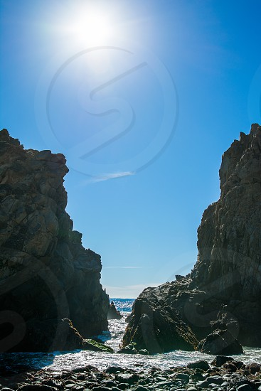 The Gap at Pfeiffer State Beach photo