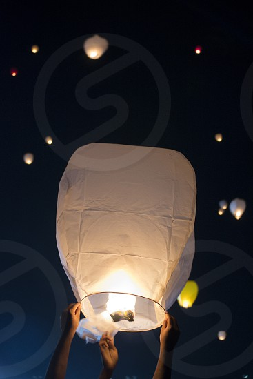 Lantern Festival- Hyderabad India photo