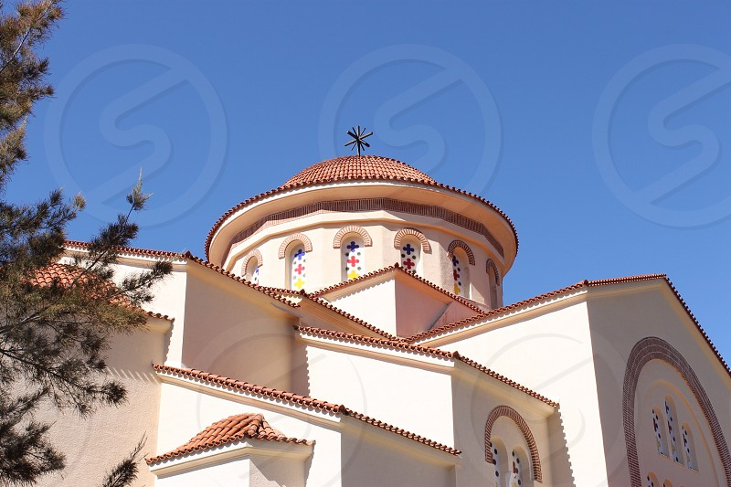 Agios Gerasimos Monastery Kefalonia Greece photo