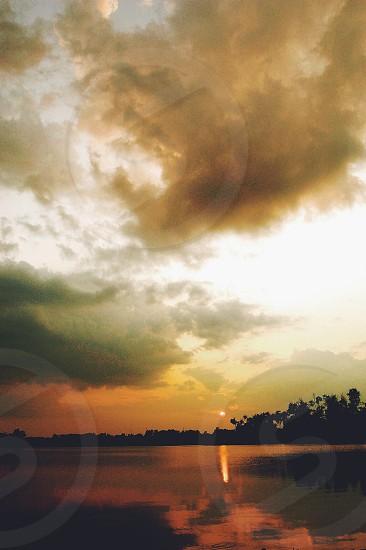 Nature sunset photo