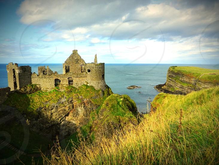 Dunluce Castle N.Ireland photo