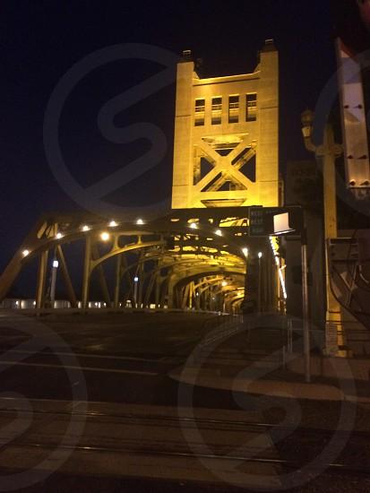 Tower Bridge in Sacramwnto photo