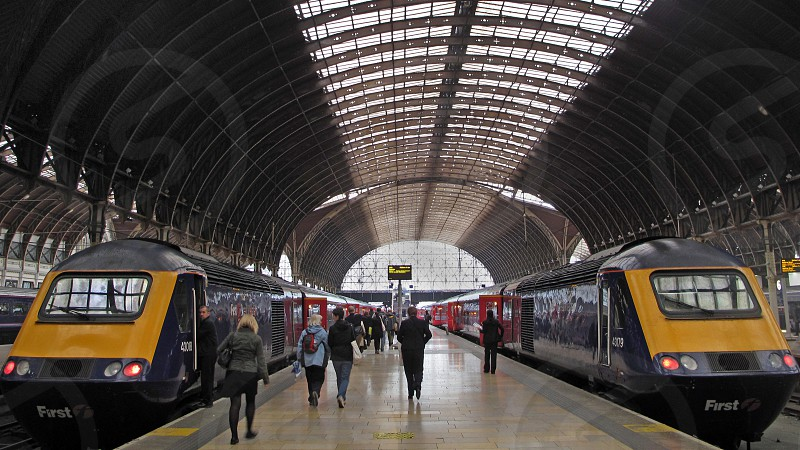 travel Paddington station train travel departure 125 firstgreatwestern travel photo