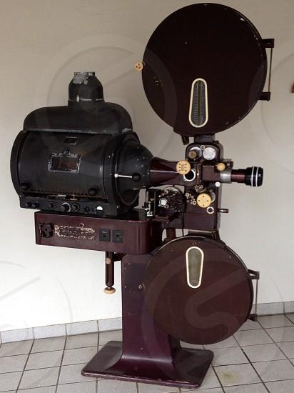 An original projector photo