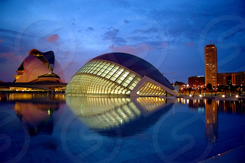 City of Arts and Sciences Valencia. photo