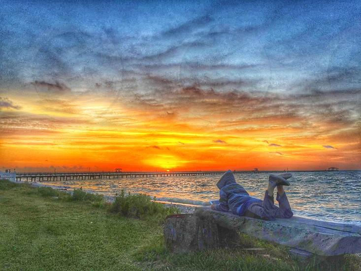 Sun Texasocean relax photo