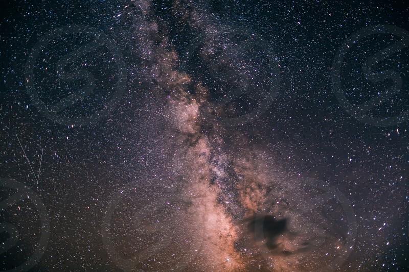 Starlight star bright. First star I see tonight. photo