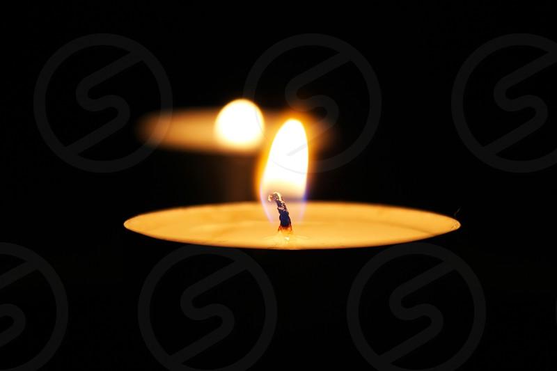 candles at night  photo