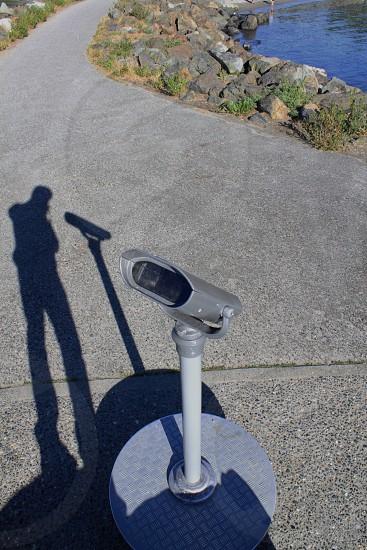 shadow selfie  photo