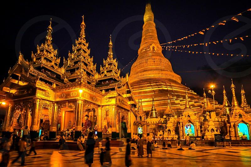 Pagoda. Yangon Myanmar photo