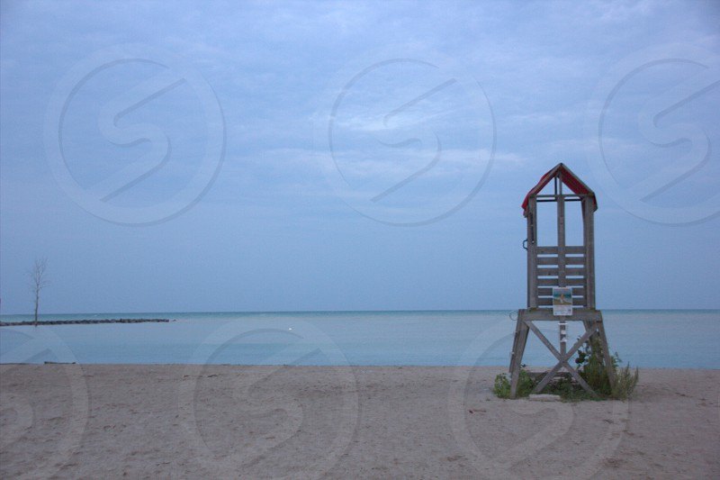 The beach at Goderich Ontario. photo