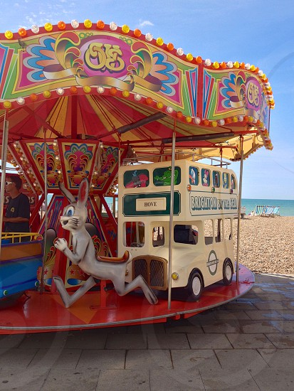 kiddie carousel photo